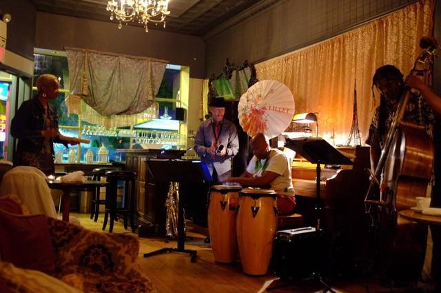 Paris Wine Bar, Bert Harris Trio, June 10, Photo courtesy Kenny White Photography