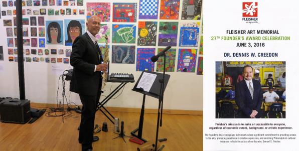 Laurent Bass, Fleisher Art Memorial Founder's Award, June 3