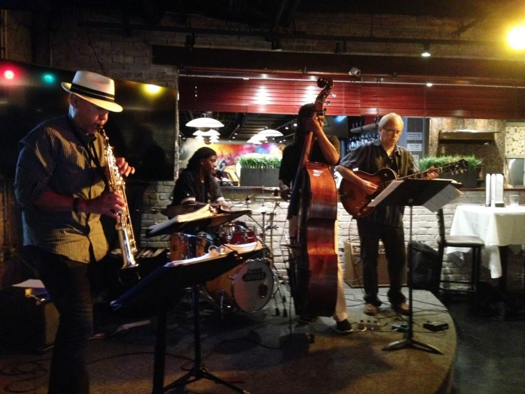Mélange Jazz Collective Quartet, Manayunk Brewery Jazz Brunch, July 10