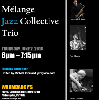 Warmdaddy's - Mélange Jazz Collective Trio