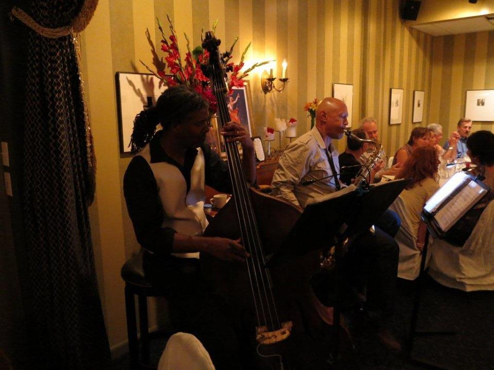 Laurent Bass, tenor sax; Bert Harris, upright bass