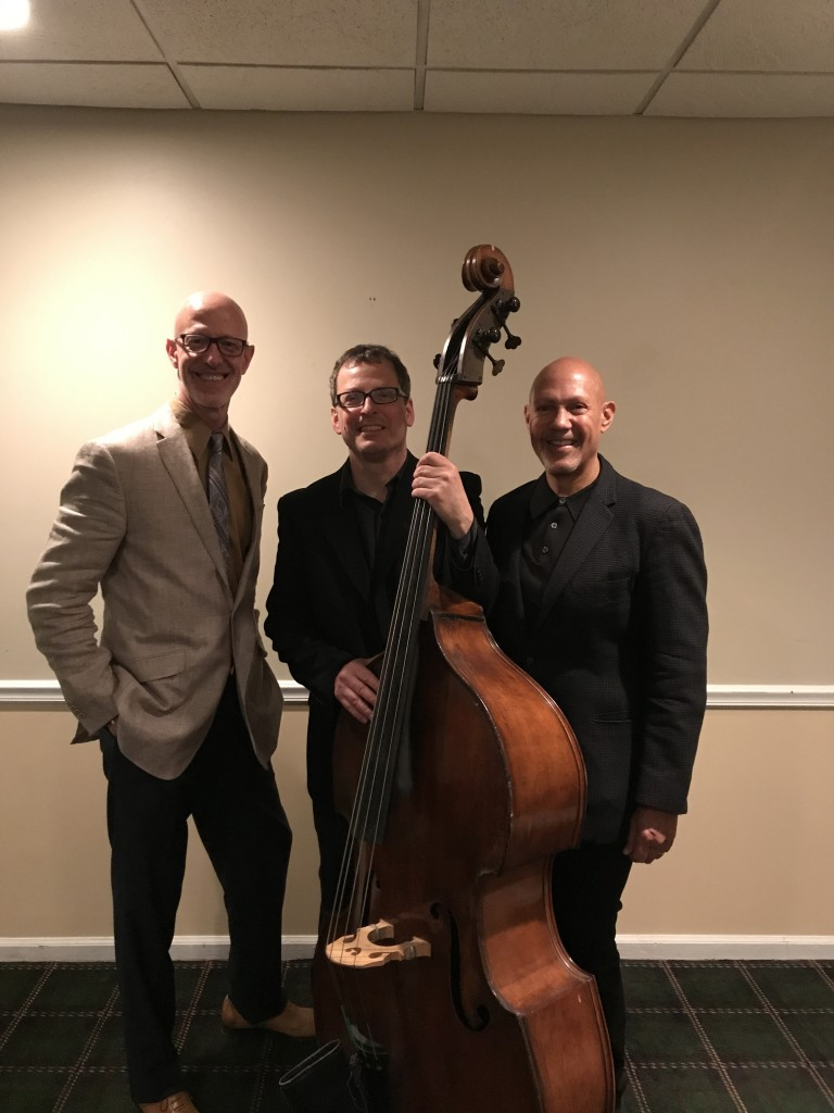 Mélange Jazz Collective, saxophonist Laurent Bass, keyboardist Walter Runge, bassist Keith DeStefano - Bala Golf Club