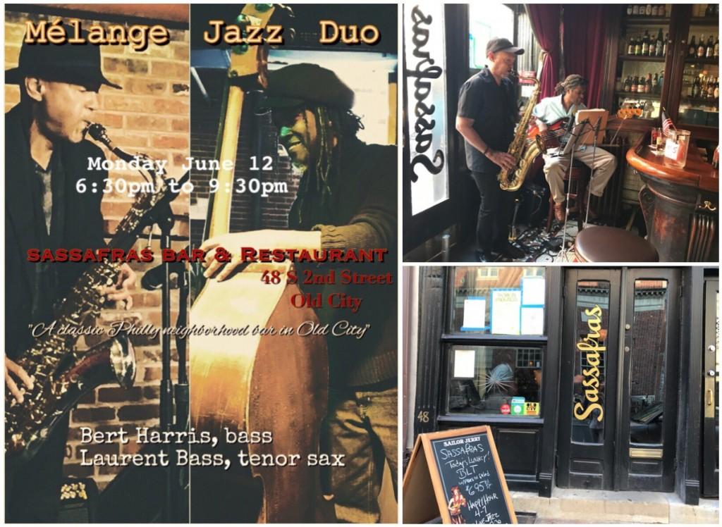 Mélange Jazz Duo, Sassafras Bar, Old City