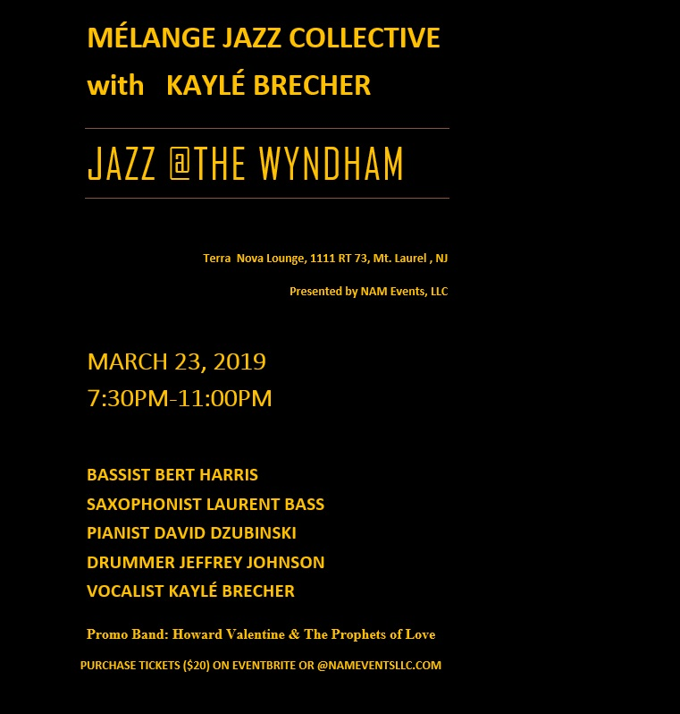 Mélange Jazz Collective - Jazz at The Wyndham