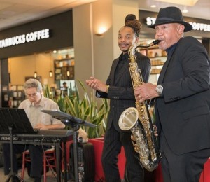 Mélange Jazz Collective at PHL Airport