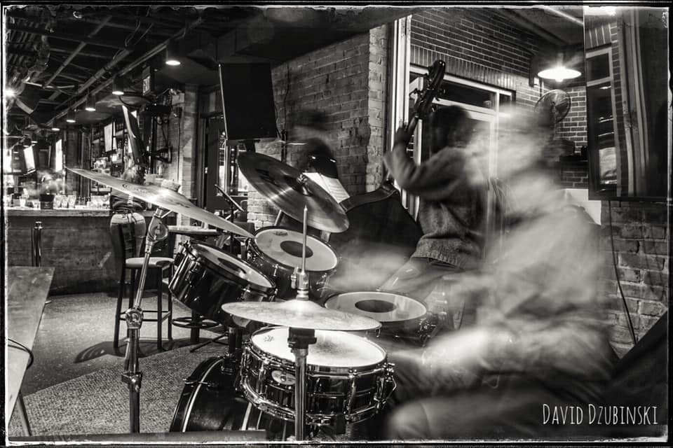 Drumming, photo David Dzubinski